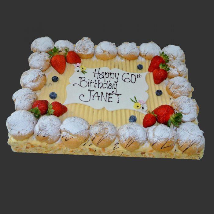 Vanilla Cake 30x40