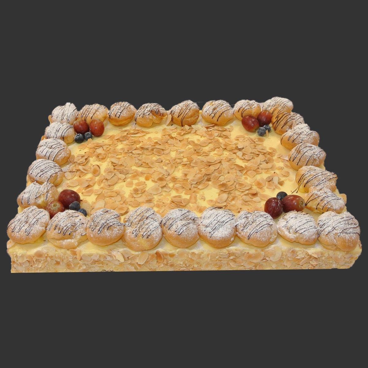 Vanilla Cake Slab 40x60
